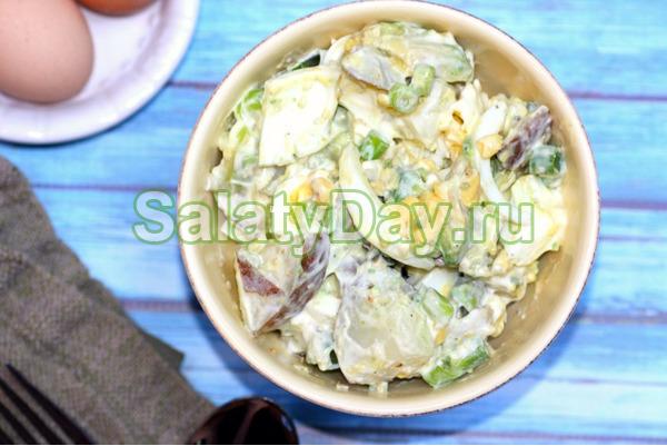 Простые салаты рецепты с майонезом
