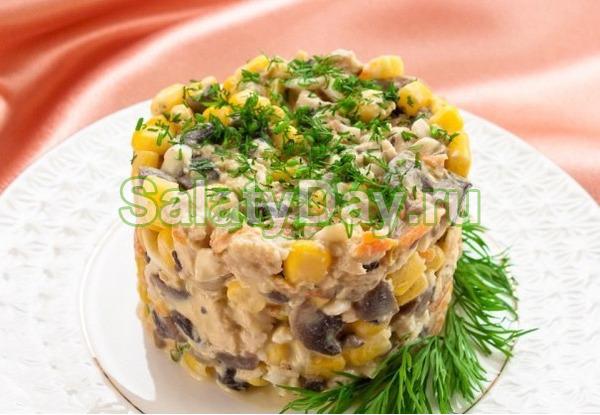 Салат из Ростикса