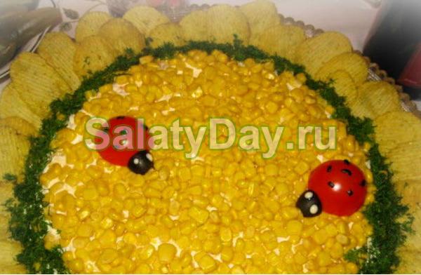 Как сделать салат из кукурузы 914