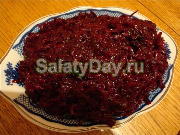 Салат из свеклы на зиму рецепты