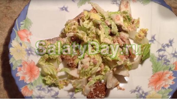 154Как сделать салат с тунцом рецепт пошагово