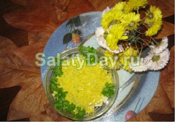 Салат «Нежность» с крабовыми палочками