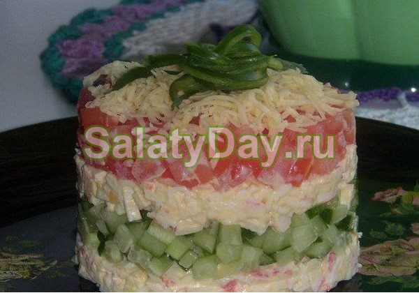 Салат «Нежность овощей»