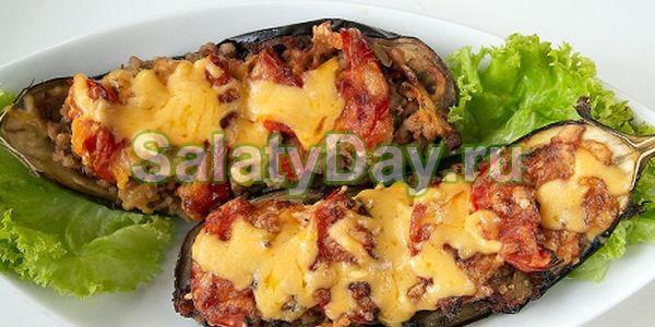 Закуска из баклажанов с помидорами и чесноком - горячие баклажаны в духовке «По-турецки»