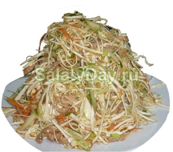 Китайский домашний салат