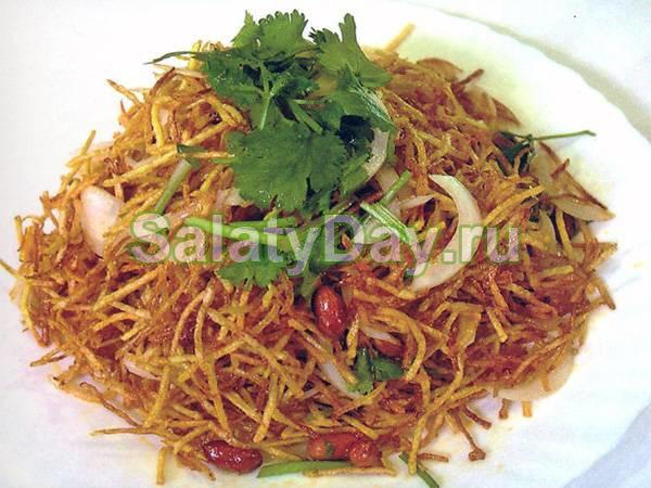 Китайский салат «Сян Сян Цай»