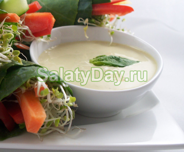 Соус для салата цезарь с майонезом