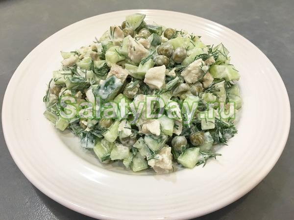 Легкие салатики