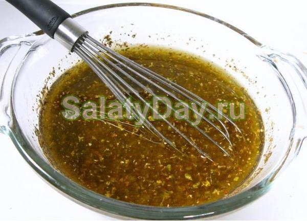 Соус для салата в домашних условиях рецепт с