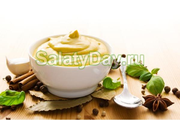 Горчично-медовая заправка для салатов