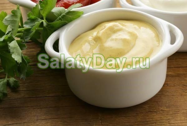 Горчичный соус с яичными желтками