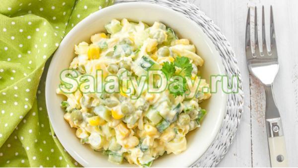 Легкий и вкусный весенний салат