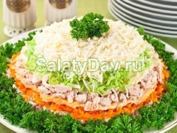 Салат Весенний день