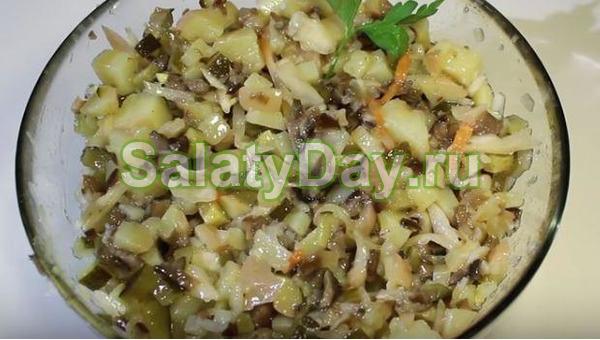 Салат деревенский свадебный рецепт с фото пошагово