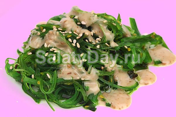 Салат «Чука» с сельдереем и грибами
