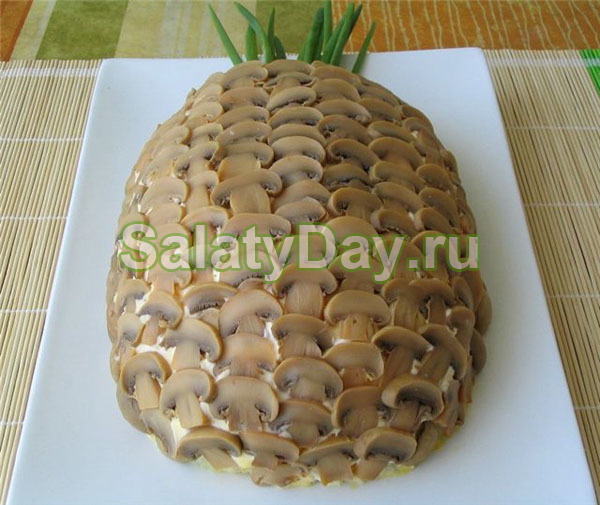 ананасы консервированные салат рецепт классический