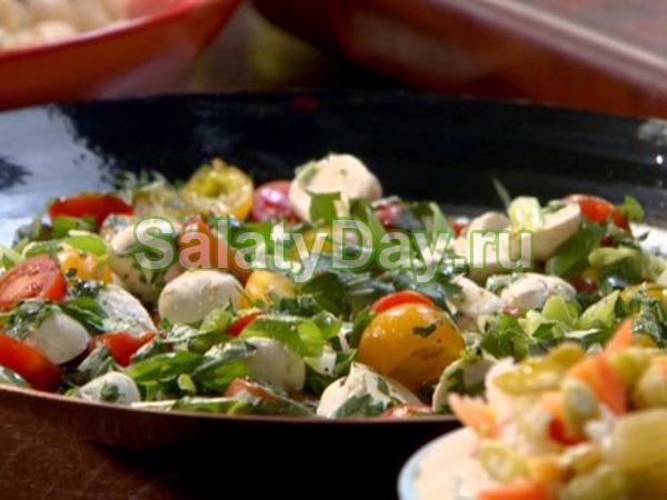 Домашний греческий салат с фетаксой