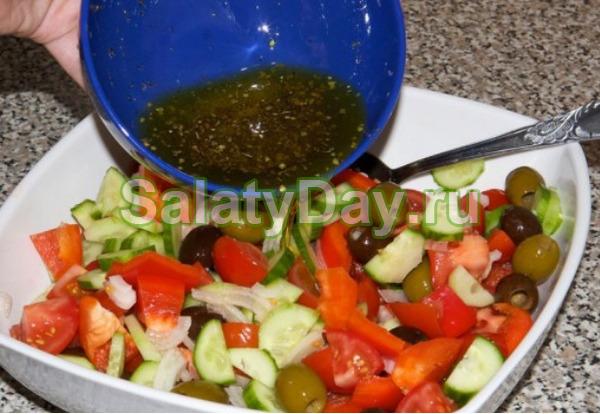 Соус для салата греческий в домашних условиях рецепт