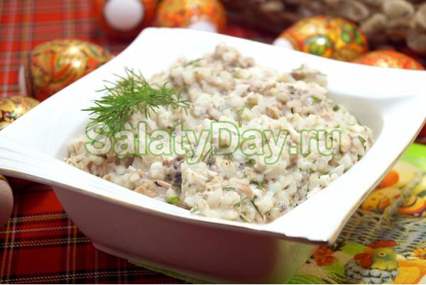 Салат «ленивые суши»