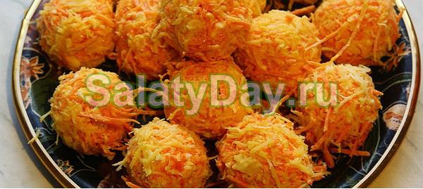 Пикантные сырные шарики