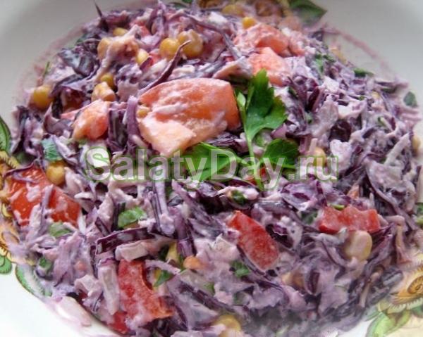 «Экспериментальный» салат