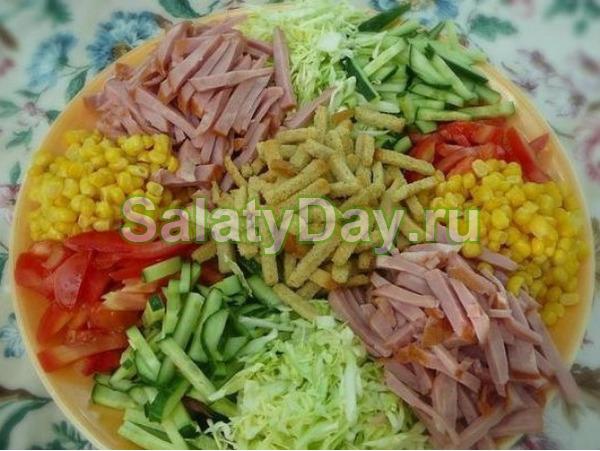 Салат « Огород»