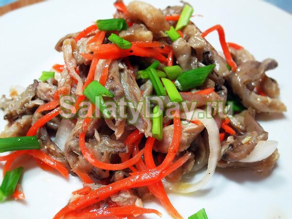 Хрустящие грибочки с морковкой