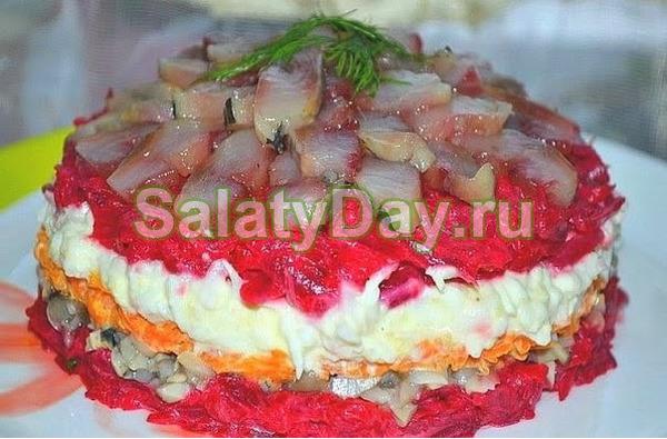 Салат из сельди «Новая шуба»