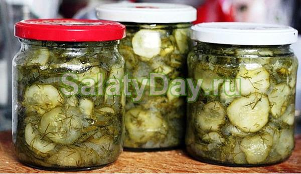 как приготовить неженский салат из огиркив видео в автоклаве+