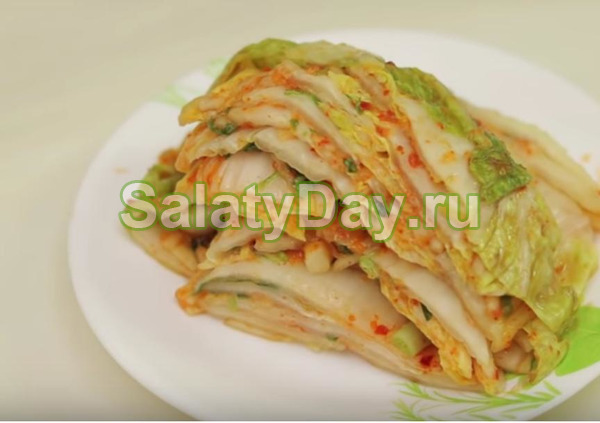 Рецепт настоящей традиционный  корейской капусты Кимчи