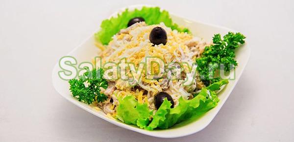 Салат из вареных овощей «Нежность»