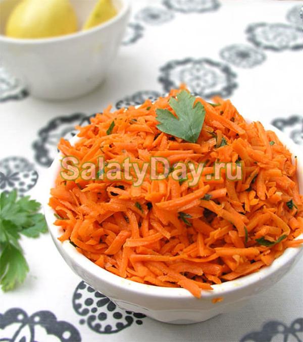 Салат из сырой моркови – Морковочка