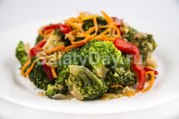 Маринованная брокколи по-корейски – классический рецепт