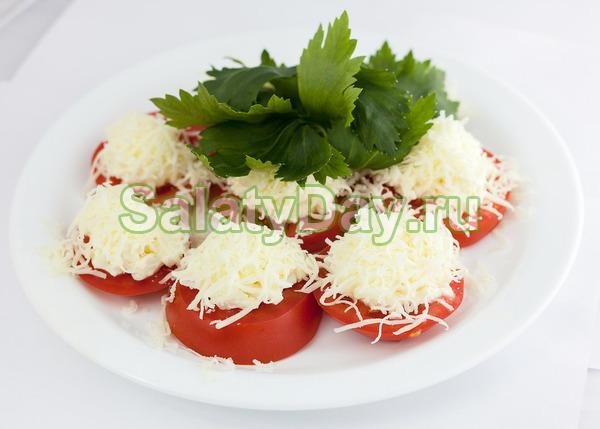 Фаршированные помидоры с сыром филадельфия - рецепт пошаговый с фото