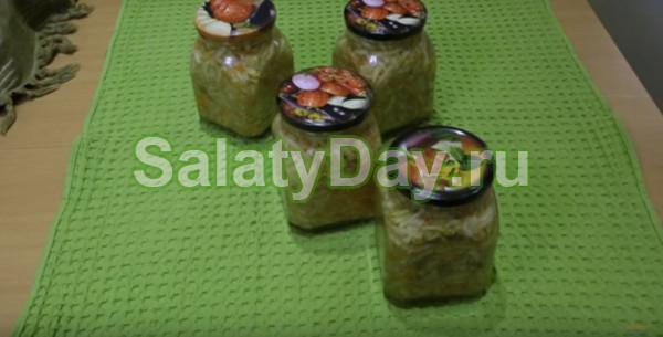 Салат из кабачков по-корейски «Классический»