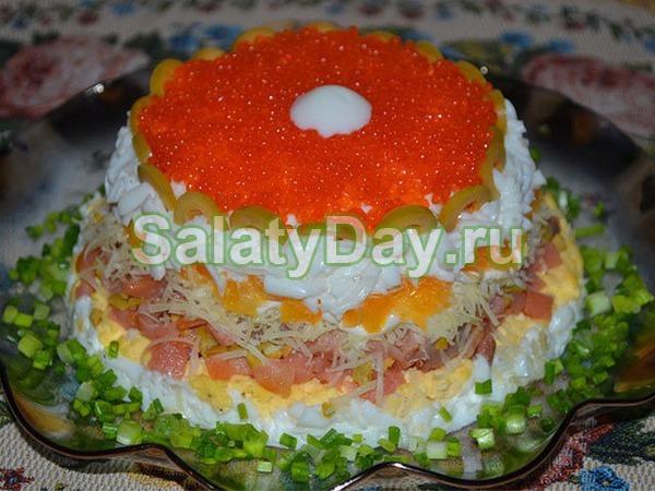 Салат «Морская жемчужина»