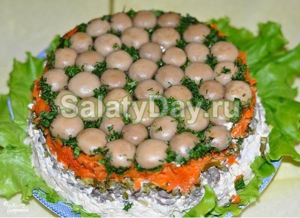 салат цезарь с говядиной простой рецепт