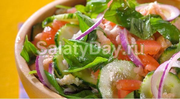 Итальянский салат «Панцанелла»