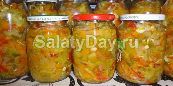 Рецепт донского салат на зиму — 9