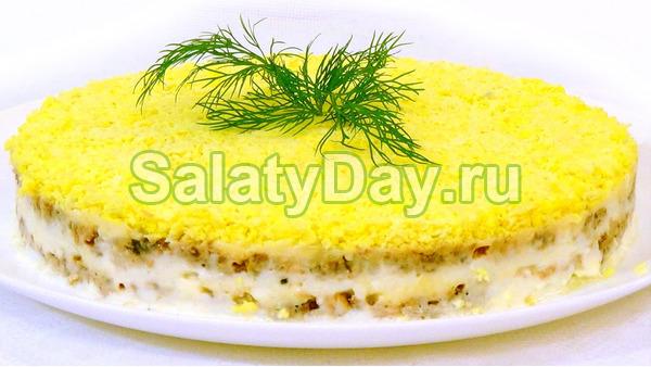 Салат Мимоза по-простому