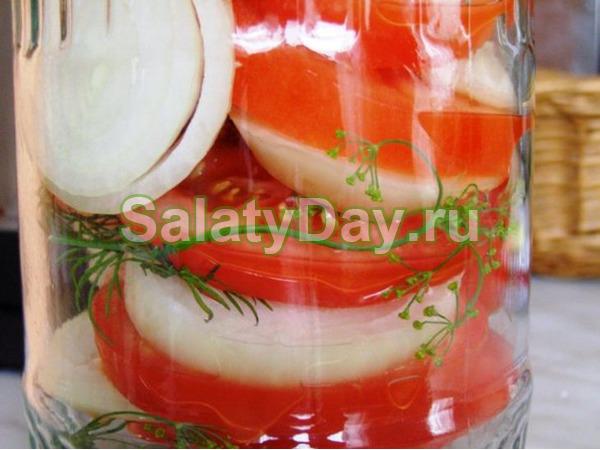 Закуска из помидор на зиму – «Пальчики оближешь»
