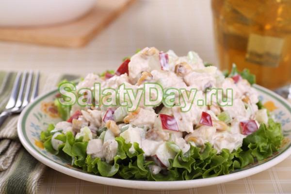 Салат ветчина фасоль капуста