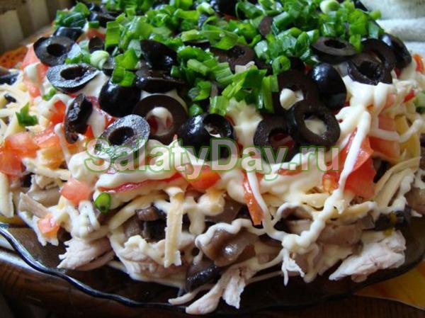 Салат с помидорами «Здоровье»