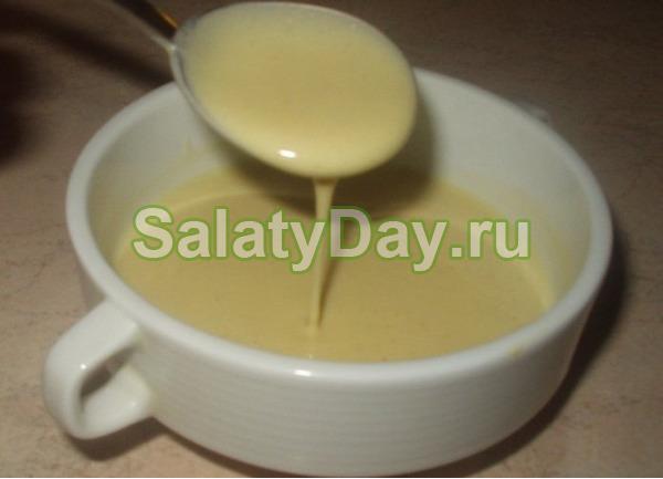 Классический и простой рецепт соуса для салата цезарь