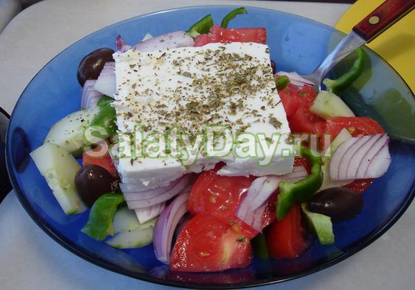 Греческий салат рецепт заправка с медом