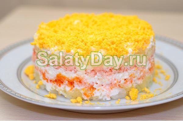 Салат мимоза без картошки рецепт пошагово в 25