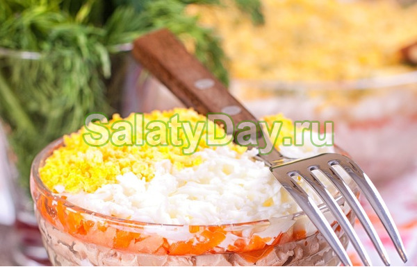 Воздушный салат мимоза рецепт